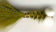 Olive Booby Nymph fly pattern