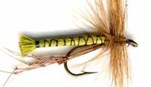 Olive Daddy Long Legs fly pattern