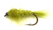 Olive Gold Ribbed Hare's Ear Nymph fly pattern
