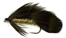 Olive Matuka Streamer fly pattern