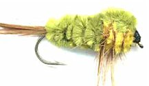 Olive and Yellow Montana Stonefly Nymph fly pattern