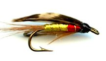 Olsen Double Hook Wet fly pattern