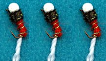 Orange Suspender Buzzer fly pattern