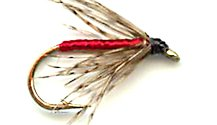Partridge and Red Soft Hackle fly pattern