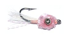 Pink Mini Puff Bonefish fly pattern