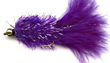 Purple Crystal Woolly Bugger fly pattern
