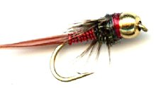 Red Copper John Beaded fly pattern