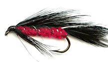 Red Devil Matuka Streamer fly pattern