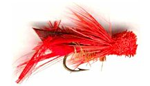 Red Hopper Dry fly pattern