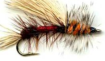 Royal Trude Stimulator Attractor Dry fly pattern