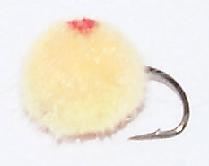Champagne Salmon Egg Fishing Fly pattern