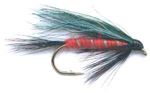 The Scottish Millennium Single Hook Tartan Fly
