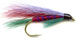 The Scottish Clan Montgomery Single Hook Tartan Hairwing Fly