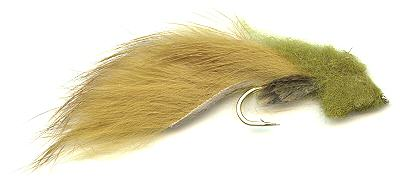 The Olive Woolhead Sculpin Muddler Streamer