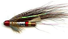Silver Doctor 1 inch Copper Salmon Tube fly pattern