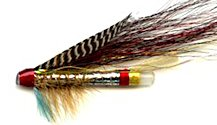 Silver Doctor 1 Plastic Tube Fly Salmon Tube fly pattern