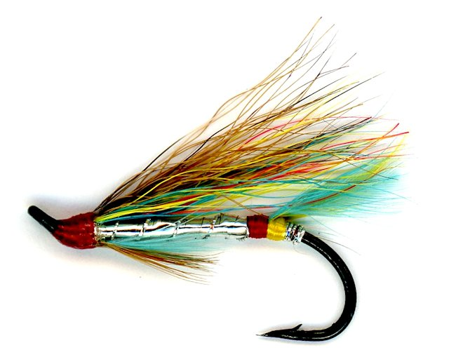 The Silver Doctor Salmon Single Hook Fly