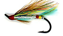 Silver Doctor Salmon Single Hook fly pattern