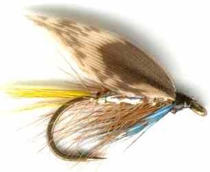 Silver Invicta Caddis Sedge Wet Fly Trout Fishing Pattern