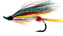 Silver Wilkinson Salmon Single Hook fly pattern