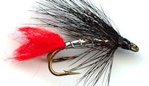Silver Zulu Double Hook Wet fly pattern