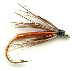 Partridge and Orange Soft Hackle Wet Fly pattern