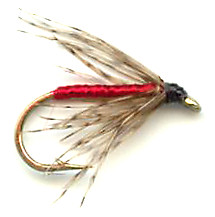 Partridge and Red Soft Hackle Wet Fly pattern