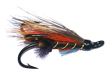 The Thunder and Lightning Treble Hook Salmon Fly