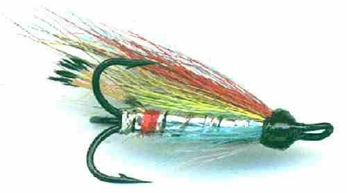 The Silver Wilkinson Treble Hook Salmon Fly