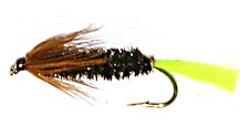 Stick Fly Cased Caddis Sedge Larvae fly pattern