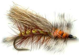 Yellow Stimulator Attractor Dry Fly