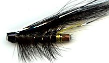 Stoats Tail 1 Inch Copper Salmon Tube fly pattern