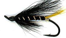 Stoat's Tail Salmon Single Hook fly pattern