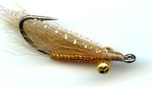 Tan Crazy Charlie Bonefish fly pattern