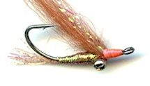 Tan Gotcha Bonefish Shrimp fly pattern