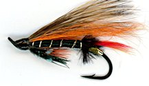 Thunder and Lightning Salmon Single Hook fly pattern