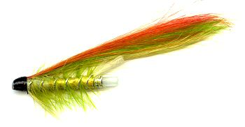 The Green Highlander 1 1/2 Inch Plastic Salmon and Steelhead Tube Fly