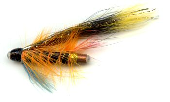 The Munro Killer 1 Inch Copper Salmon and Steelhead Tube Fly