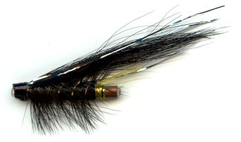 The Stoats Tail 1 Inch Copper Salmon and Steelhead Tube Fly
