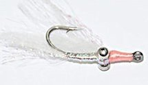 White Gotcha Bonefish Shrimp fly pattern