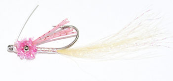 Pink Wiggler Bonefish Shrimp Fly