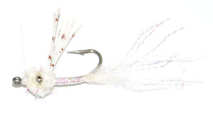 White Wiggler Bonefish Shrimp Fly