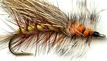 Yellow Stimulator Attractor Dry fly pattern